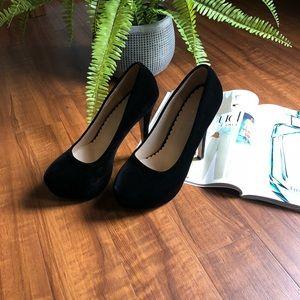 Women's Round Toe Platform High Heels